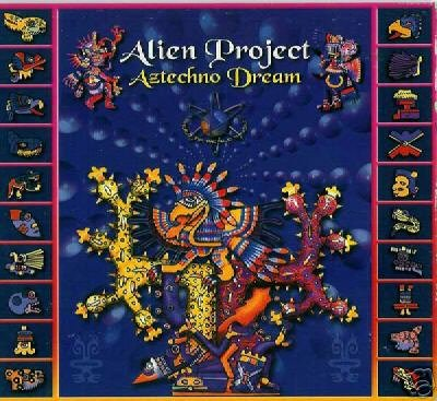 ALIEN PROJECT LOGIC BOMB AZTECHNO DREAM RARE TRANCE CD