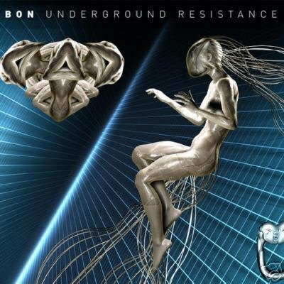 BON UNDERGROUND RESISTANCE AUSTRALIA PSY-TRANCE CD