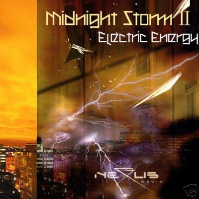 MIDNIGHT STORM 2 ELECTRIC ENERGY RARE PSY-TRANCE CD