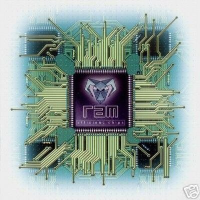 RAMPANT ANGRY MEN R.A.M. EFFICIENT CHIPS PSY-TRANCE CD