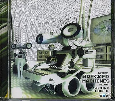WRECKED MACHINES SECOND THOUGHT BRAIN XL SPAIN CD