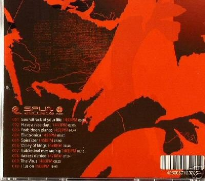 CYRUS THE VIRUS SUBLIMINAL SPAIN SPANISH PSY-TRANCE CD