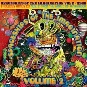 SPACESHIPS OF THE IMAGINATION 2 STUNNING TIP.WORLD CD