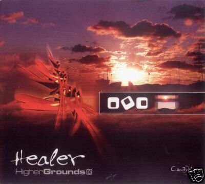 HEALER HIGHER GROUNDS 12 MOONS AMBIENT SWEDISH CD
