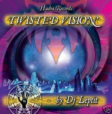 TWISTED VISION HADRA DJ LEPTIT FRENCH PSY-TRANCE CD