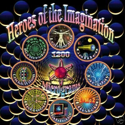 1200 MICS MICROGRAMS HEROES OF THE IMAGINATION CD