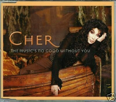 CHER THE MUSICS NO GOOD WITHOUT YOU REMIX CD NEW