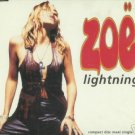 ZOE LIGHTNING RARE POLYDOR COLLECTORS DELETED CD NEW
