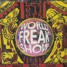 THE LEVELLERS WORLD FREAK SHOW CD NEW & SEALED