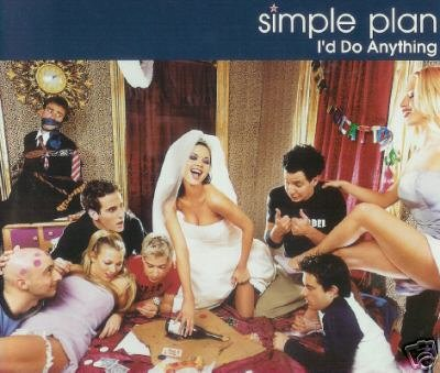 SIMPLE PLAN I'D DO ANYTHING CD + VIDEO - NEW