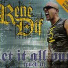 RENE DIF LET IT ALL OUT PUSH IT CD NEW INCL VIDEO