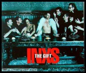 INXS THE GIFT RARE ALT 4 TRACK CD + HEAVEN SENT SEALED