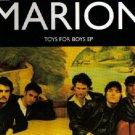 MARION TOYS FOR BOYS COLLECTORS EP CD +RARE BONUS LIVE