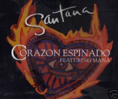 SANTANA CORAZON ESPINADO V RARE 6 TRACK REMIXES CD NEW