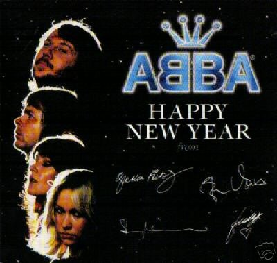 ABBA HAPPY NEW YEAR ADANTE ADANTE RARE CD NEW