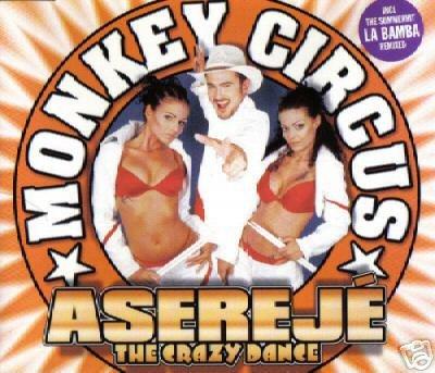 MONKEY CIRCUS LA BAMBA ASEREJE THE CRAZY DANCE CD NEW