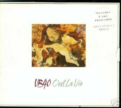 UB40 C'EST LA VIE CD + LTD EDN POSTCARDS NEW & SEALED