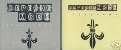 DEPECHE MODE IT'S NO GOOD CD IMPORTS 1 & 2 8TRACKS NEW