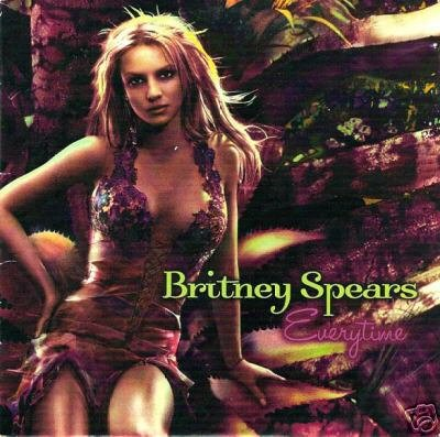 BRITNEY SPEARS EVERYTIME RARE SWEDISH JIVE CD NEW