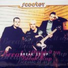 SCOOTER BREAK IT UP SUPERB 3 TRACK 1996 CD IMPORT NEW