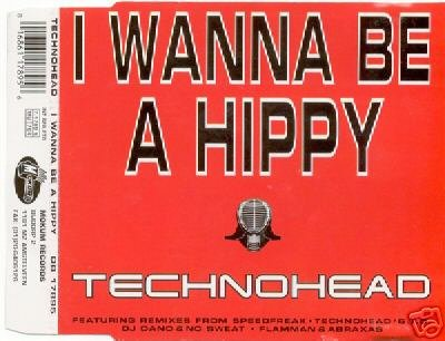 TECHNOHEAD I WANNA BE A HIPPY 5 TRACK REMIX CD SEALED