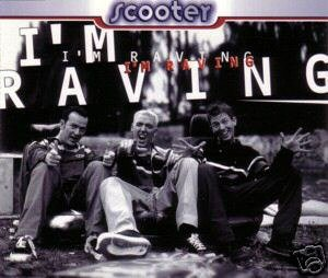 SCOOTER I'M RAVING GERMAN 4 TRACK CD IMPORT NEW