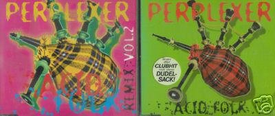 PERPLEXER ACID FOLK 2 SUPERB RARE REMIXES CD 'S NEW