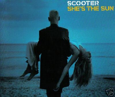SCOOTER SHE'S THE SUN RARE OOP 4 TRACK CD + VIDEO - NEW