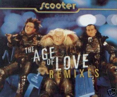 SCOOTER THE AGE OF LOVE V RARE REMIXES CD VIDEO NEW