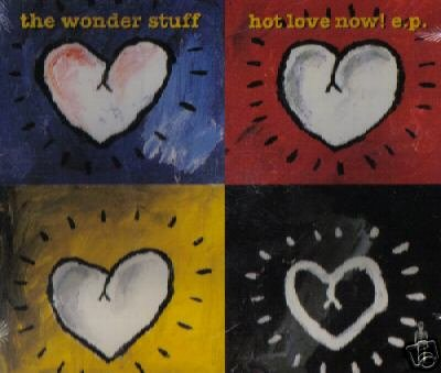 THE WONDER STUFF HOT LOVE NOW EP CD NEW & SEALED