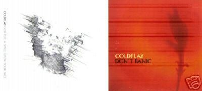 COLDPLAY DON'T PANIC GOD PUT A SMILE UPON YOUR FACE CD