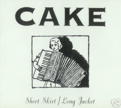 CAKE SHORT SKIRT LONG JACKET RARE OOP CD - NEW