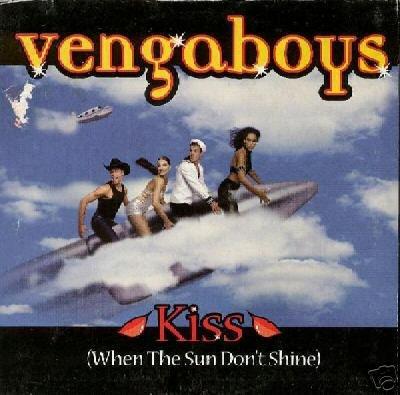 THE VENGABOYS KISS WHEN THE SUN DON'T SHINE LTD CARD CD
