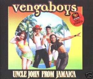 THE VENGABOYS UNCLE JOHN FROM JAMAICA 7 TRK CD & VIDEO