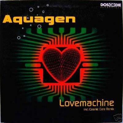 AQUAGEN LOVE MACHINE LOVEMACHINE 4 TRACK CD - NEW