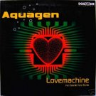 AQUAGEN LOVE MACHINE LOVEMACHINE 4 TRACK CD - NEW