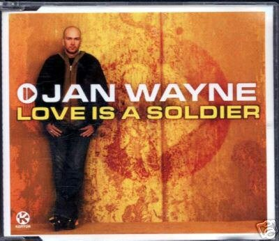 JAN WAYNE LOVE IS A SOLDIER RARE 4 TRACK CD NEW