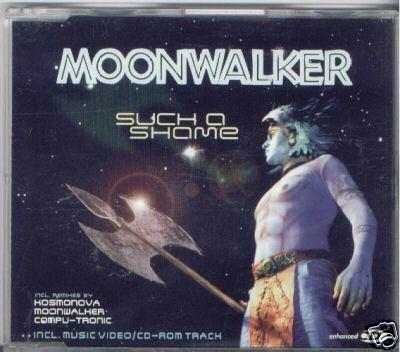 MOONWALKER SUCH A SHAME 8 TRACK CD & VIDEO NEW