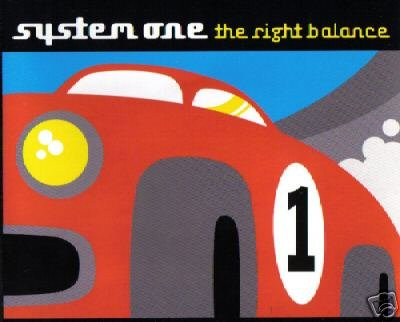 SYSTEM ONE 1 THE RIGHT BALANCE RARE OOP CD IMPORT NEW