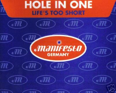 HOLE IN ONE LIFE'S TOO SHORT DONNA PIZZA RARE REMIX CD