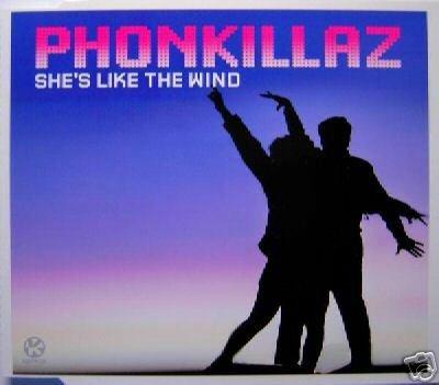 THE PHONEKILLAZ SHE'S LIKE THE WIND LTD REMIXES CD NEW