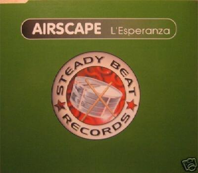 AIRSCAPE L'ESPERANZA SVENSON + 3 MIXES V RARE CD NEW