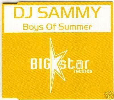 DJ SAMMY BOYS OF SUMMER RARE OOP 45 MIN REMIXES CD NEW