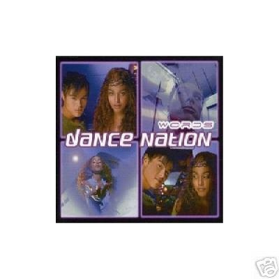 WORDS DANCE NATION 7 TRACK OOP TRANCE CD NEW