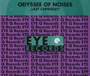 ODYSSEE OF NOISES LAST CAPRIOLES V RARE CD - NEW