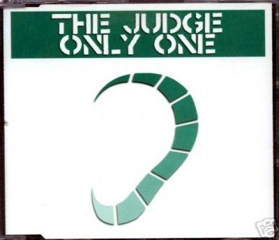 THE JUDGE ONLY ONE V RARE LTD SCANDANAVIAN TRANCE CD