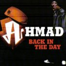 AHMAD BACK IN THE DAY RARE 6 TRACK REMIXES CD IMPORT