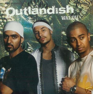 OUTLANDISH WALOU LIMITED EDN CARD SLEEVE CD NEW