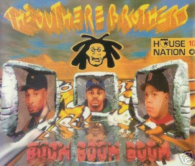 THE OUTHERE BROTHERS BOOM BOOM BOOM 7 TRACK REMIXES CD