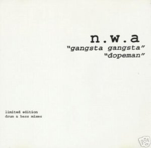 .W.A. NWA GANGSTA GANGSTA DOPEMAN REMIXES CD SEALED